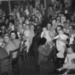W I Christmas party 1956