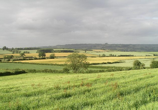Landsdown from Stantonbury Hill
